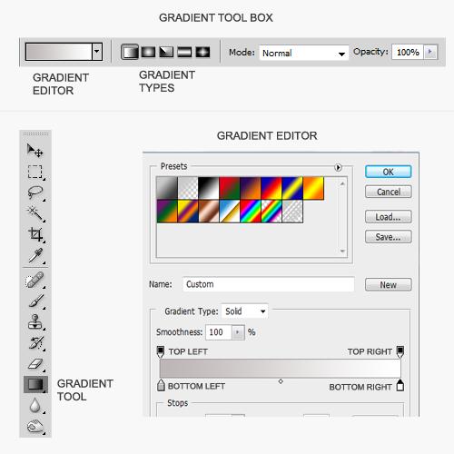 Gradient Tools , Options