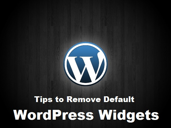 tips-to-remove-default-wordpress-widgets